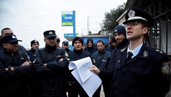 Эвакуация в Салониках