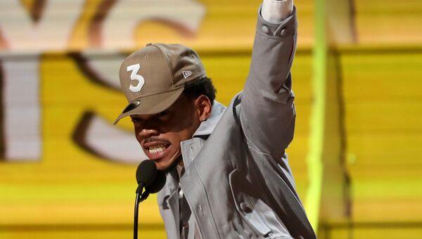 Реппер Chance the Rapper на церемонии вручения Грэмми