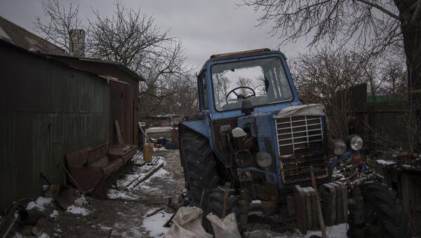 Ситуация после обстрелов в ДНР. Архивное фото