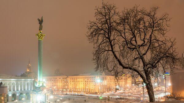 Зимний Киев, архивное фото