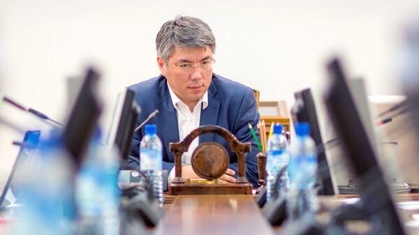 Главы Бурятии Алексей Цыденов. Архивное фото