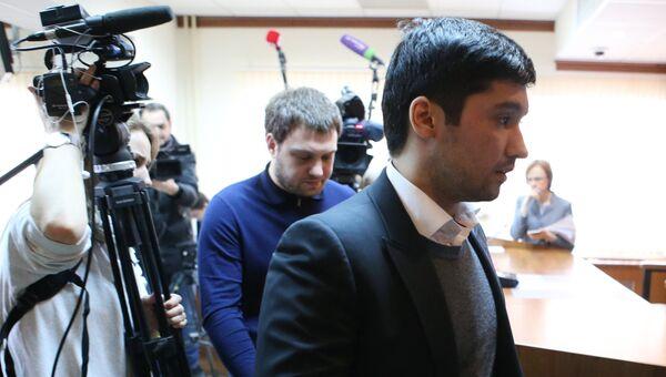 Сын вице-президента Лукойла Руслан Шамсуаров в зале заседаний Мосгорсуда. Архивное фото