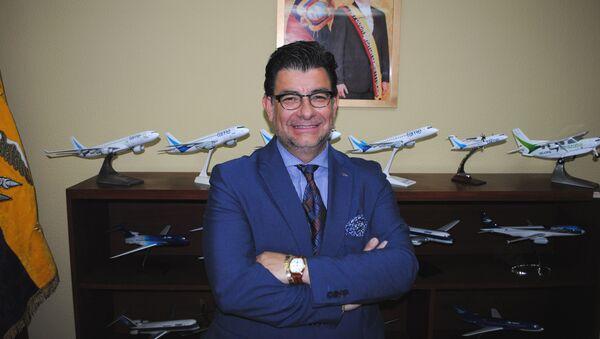 Глава авиакомпании TAME Патрисио Чавес Савала. Архивное фото