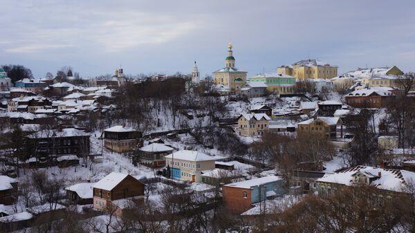 Владимир зимой