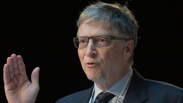 Миллиардер, бывший генеральный директор Microsoft Билл Гейтс