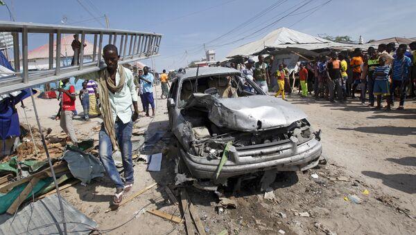 Взрыв на рынке в сомалийской столице Могадишо