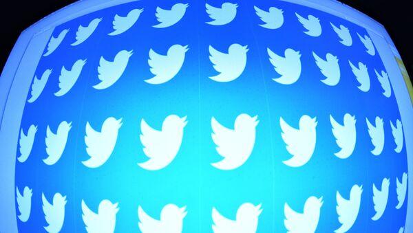 Логотип социальной сети Twitter. Архивное фото