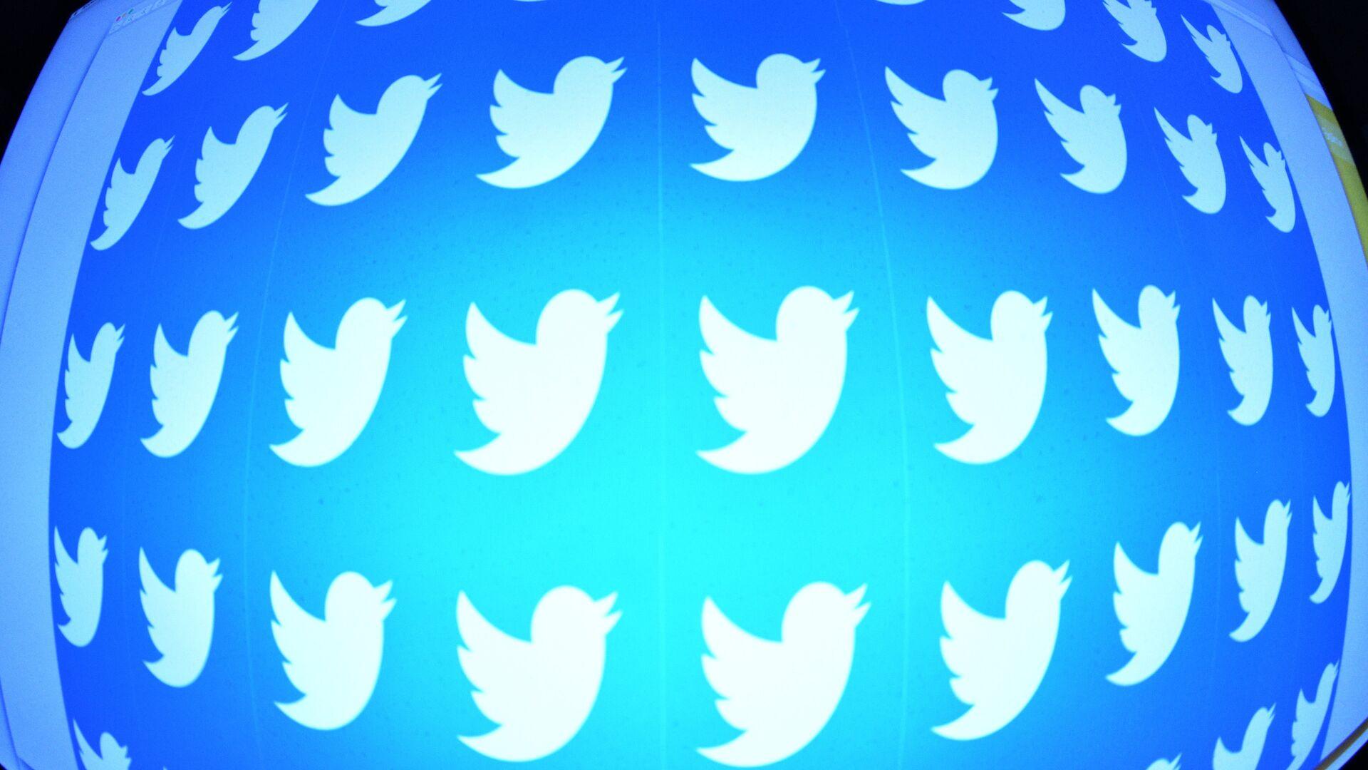 Логотип социальной сети Twitter - РИА Новости, 1920, 02.03.2021