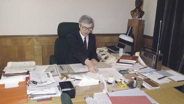 Виталий Чуркин, начальник Управления информации МИД СССР