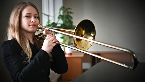 Варвара, тромбонист, 28 лет