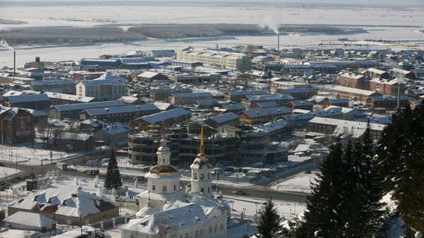 Церковь Пресвятой Богородицы в Ханты-Мансийске. Архивное фото