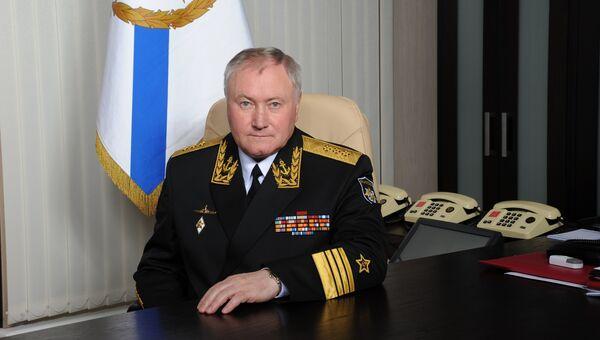 Главком Военно-морского флота России Владимир Королев. Архивное фото