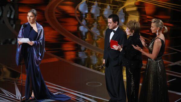 На церемонии вручения Оскар