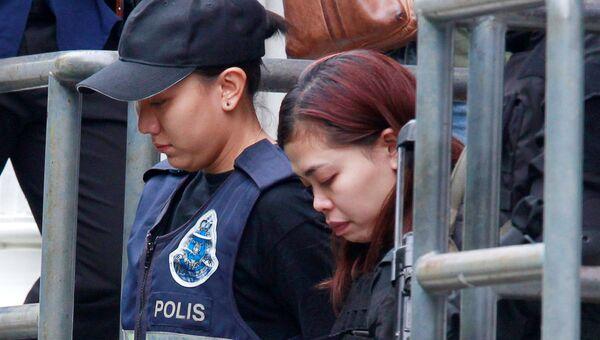 Гражданка Индонезии Сити Айша, задержанная в Малайзии по подозрению в причастности к убийству Ким Чен Нама