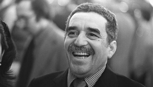 Колумбийский писатель Габриэль Гарсия Маркес. Архив