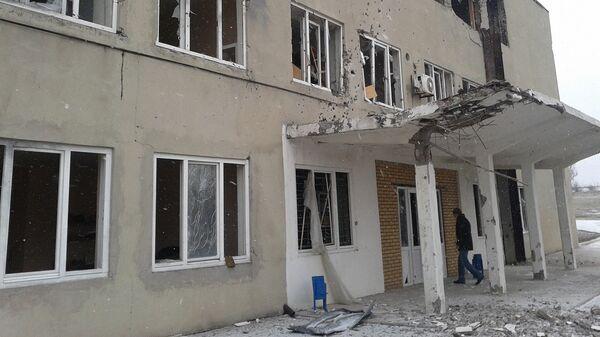 Административно-бытовой корпус Донецкой фильтровальной станции