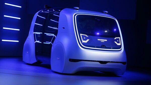 Концепт-кар Volkswagen Sedric на Женевском международном автосалоне