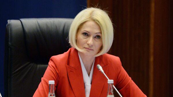 Руководитель Росреестра Виктория Абрамченко