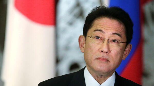 Министр иностранных дел Японии Фумио. Архивное фото