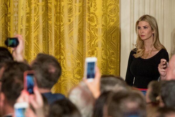 Иванка Трамп, дочь президента США Дональда Трампа