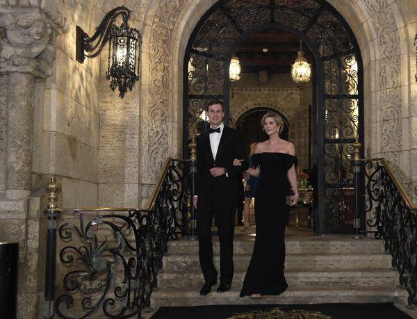 Советник Белого дома Джаред Кушнер и его жена Иванка Трамп