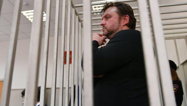 Экс-губернатор Кировской области Никита Белых в Бассманном суде Москвы. Архивное фото