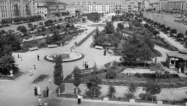 Площадь им. В. И. Ленина в Сталинграде