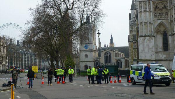 Обстановка у здания парламента в Лондоне