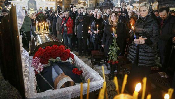 Отпевание Дениса Вороненкова во Владимирском соборе в Киеве, 25 марта 2017