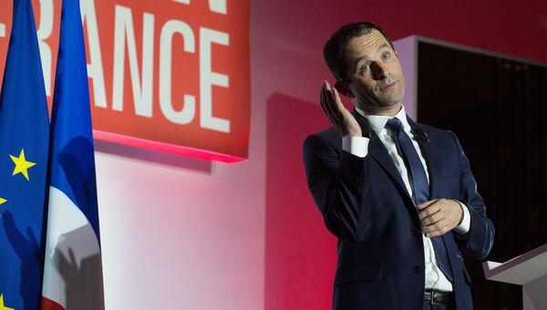 Кандидат на пост президента Франции Бенуа Амон. Архивное фото