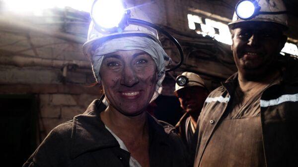 Женщина-шахтер
