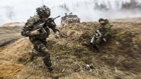 Учения войск НАТО. Архивное фото