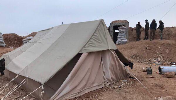 Наступление на город Хальфая на севере провинции Хама