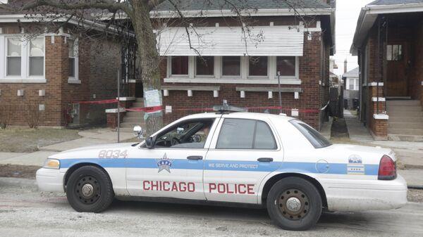 Автомобиль полиции Чикаго, США