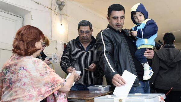 Парламентские выборы в Армении. Архивное фото