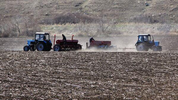 Начало посевных работ в Донецкой области