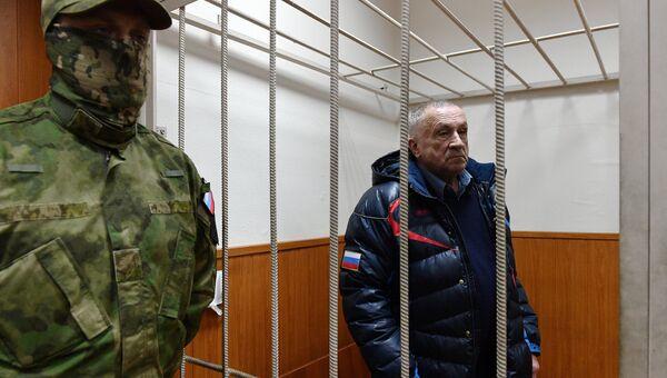 Бывший глава Удмуртии Александр Соловьев в Басманном суде. 4 апреля 2017