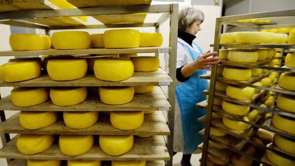 Участок производства твердого сыра. Архивное фото