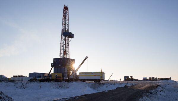 Бурение скважины Центрально-Ольгинская-1 нефтяной компании Роснефть