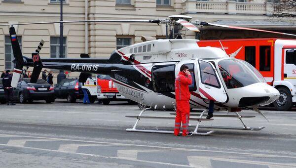 Помощь с небес: как работает санитарная авиация в Санкт-Петербурге