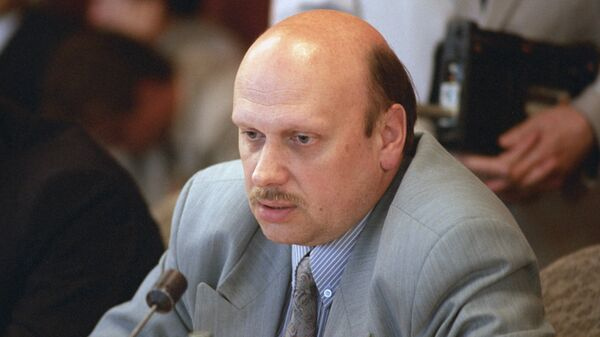 Бывший начальник Центра общественных связей ФСБ РФ Александр Михайлов