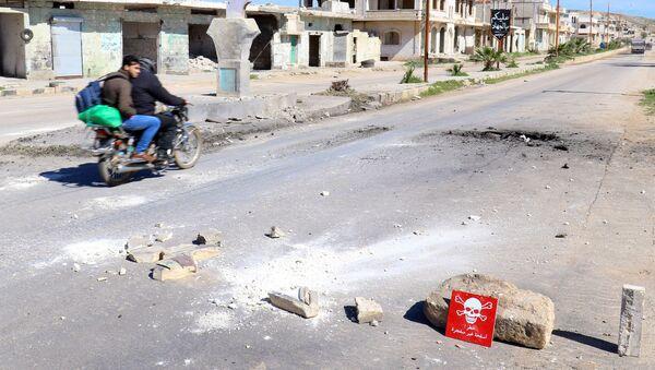 Ситуация в Идлибе, Сирия. Архивное фото