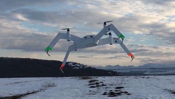 Тяжелый беспилотный летательный аппарат для спасения людей