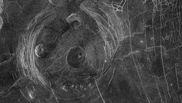 Корона Фотла на поверхности Венеры