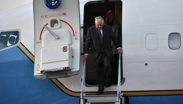Государственный секретарь США Рекс Тиллерсон, прибывший с рабочим визитом в РФ. Архивное фото