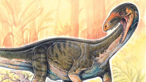Реконструкция облика Teleocrater rhadinus, предка всех динозавров