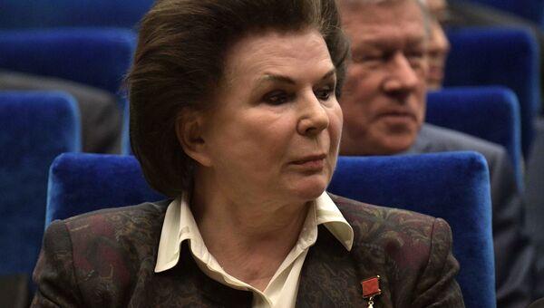 Космонавт Валентина Терешкова. Архивное фото