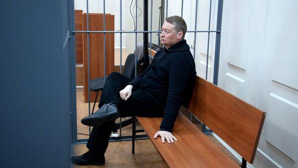 Леонид Маркелов в Басманном суде. Архивное фото