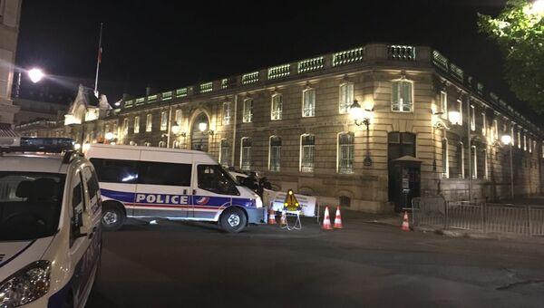 Ситуация на месте стрельбы в центре Парижа. Архивное фото