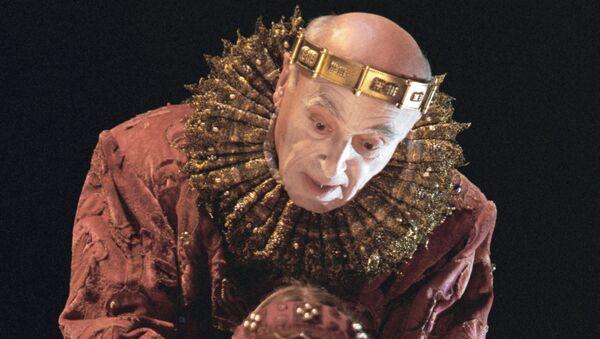 Сцена из спектакля Гамлет